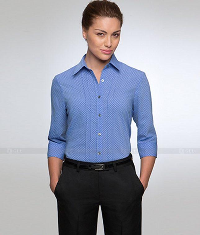 Dong Phuc Cong So Nu GS323 áo sơ mi nữ đồng phục công sở