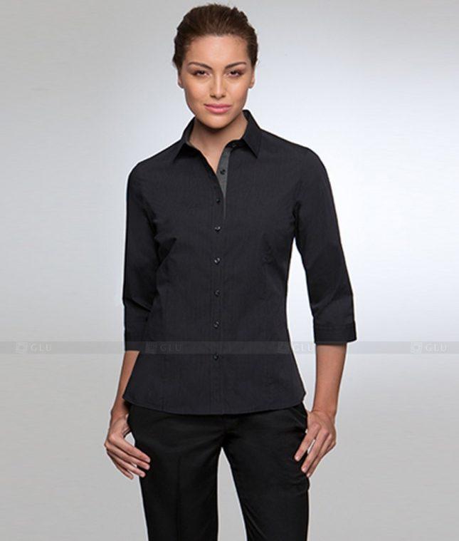 Dong Phuc Cong So Nu GS328 áo sơ mi nữ đồng phục công sở