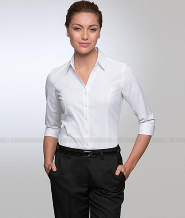 Dong Phuc Cong So Nu GS335 áo sơ mi nữ đồng phục công sở