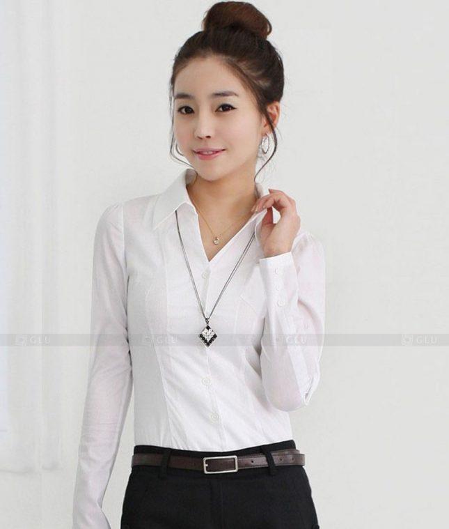 Dong Phuc Cong So Nu GS337 áo sơ mi nữ đồng phục công sở