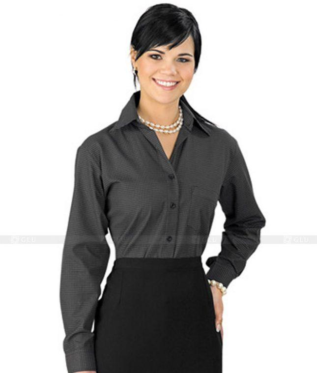 Dong Phuc Cong So Nu GS36 áo sơ mi nữ đồng phục công sở