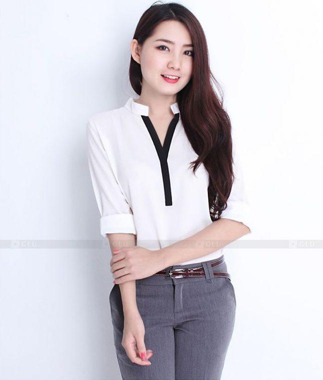 Dong Phuc Cong So Nu GS363 áo sơ mi nữ đồng phục công sở