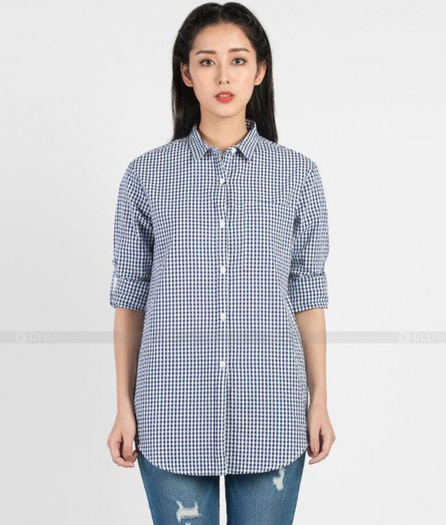 Dong Phuc Cong So Nu GS365 áo sơ mi nữ đồng phục công sở