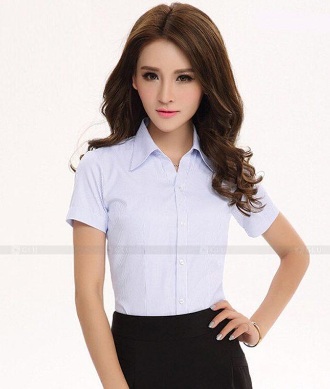 Dong Phuc Cong So Nu GS368 áo sơ mi nữ đồng phục công sở