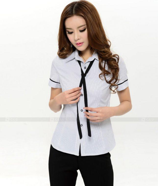 Dong Phuc Cong So Nu GS375 áo sơ mi nữ đồng phục công sở