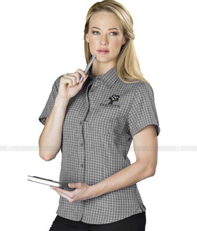 Dong Phuc Cong So Nu GS38 áo sơ mi nữ đồng phục công sở