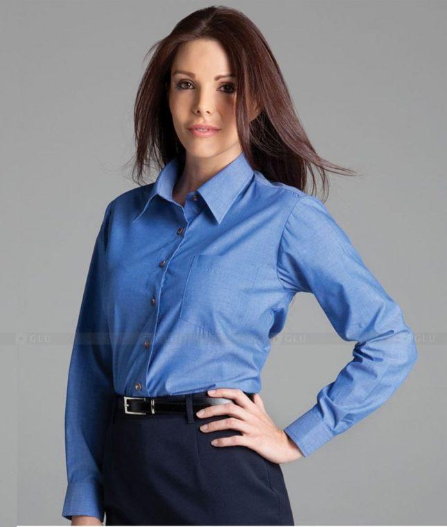 Dong Phuc Cong So Nu GS455 áo sơ mi nữ đồng phục công sở