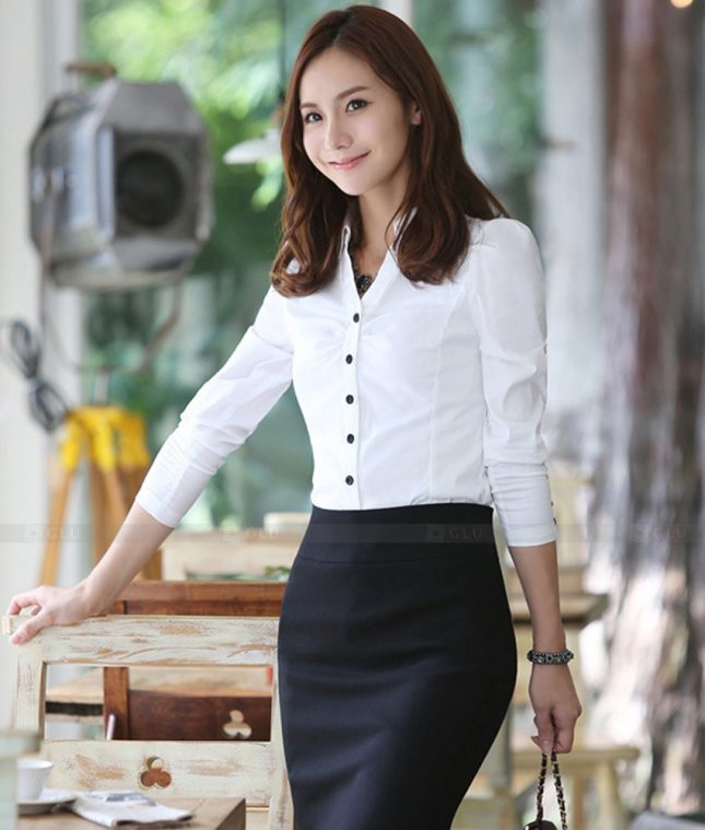 Dong Phuc Cong So Nu GS456 áo sơ mi nữ đồng phục công sở