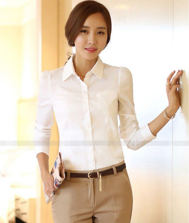 Dong Phuc Cong So Nu GS457 áo sơ mi nữ đồng phục công sở