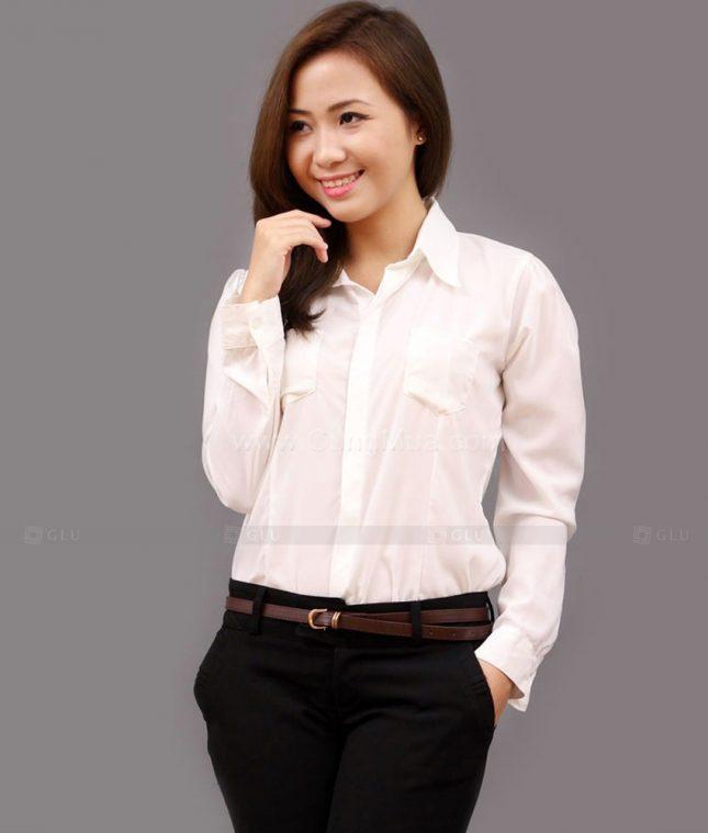 Dong Phuc Cong So Nu GS461 áo sơ mi nữ đồng phục công sở
