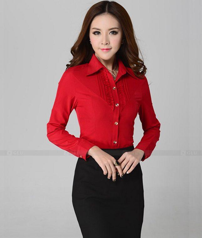 Dong Phuc Cong So Nu GS463 áo sơ mi nữ đồng phục công sở