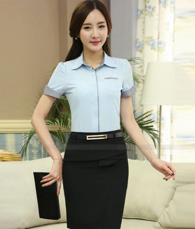 Dong Phuc Cong So Nu GS467 áo sơ mi nữ đồng phục công sở