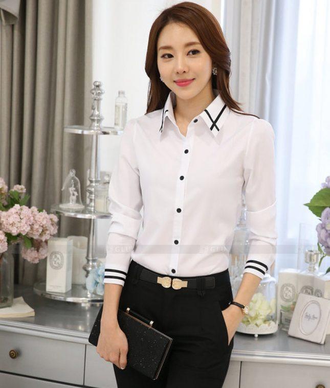 Dong Phuc Cong So Nu GS468 áo sơ mi nữ đồng phục công sở