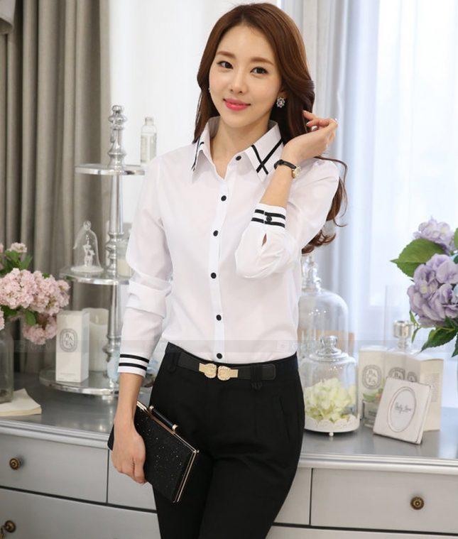 Dong Phuc Cong So Nu GS469 áo sơ mi nữ đồng phục công sở