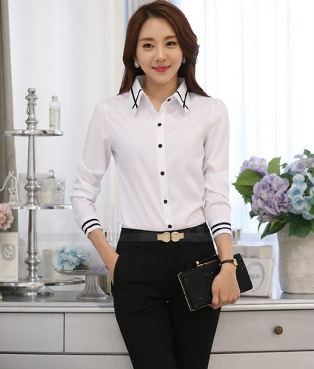 Dong Phuc Cong So Nu GS470 áo sơ mi nữ đồng phục công sở