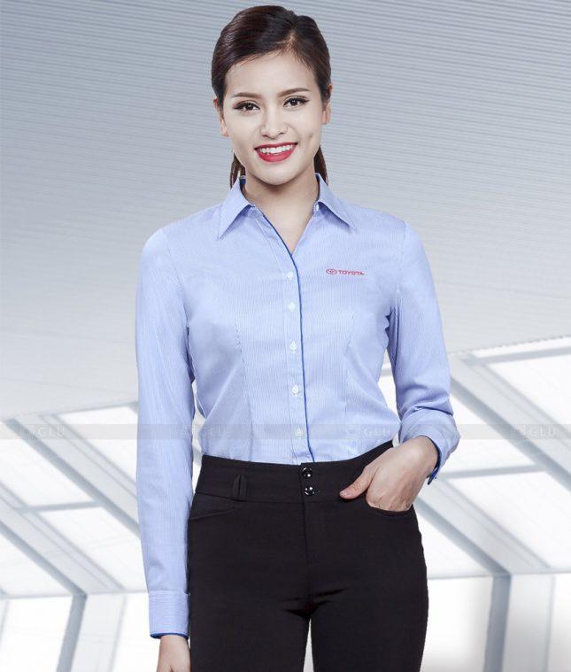 Dong Phuc Cong So Nu GS471 áo sơ mi nữ đồng phục công sở