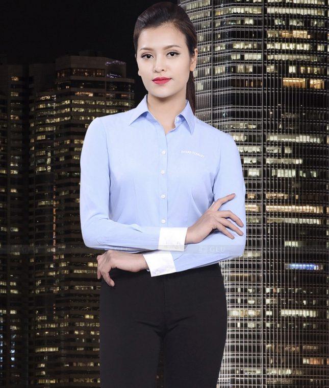 Dong Phuc Cong So Nu GS472 áo sơ mi nữ đồng phục công sở