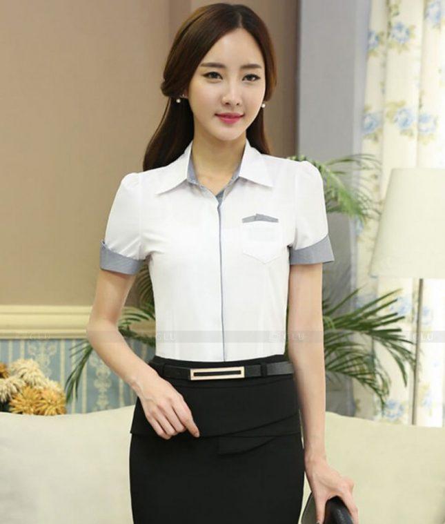 Dong Phuc Cong So Nu GS473 áo sơ mi nữ đồng phục công sở