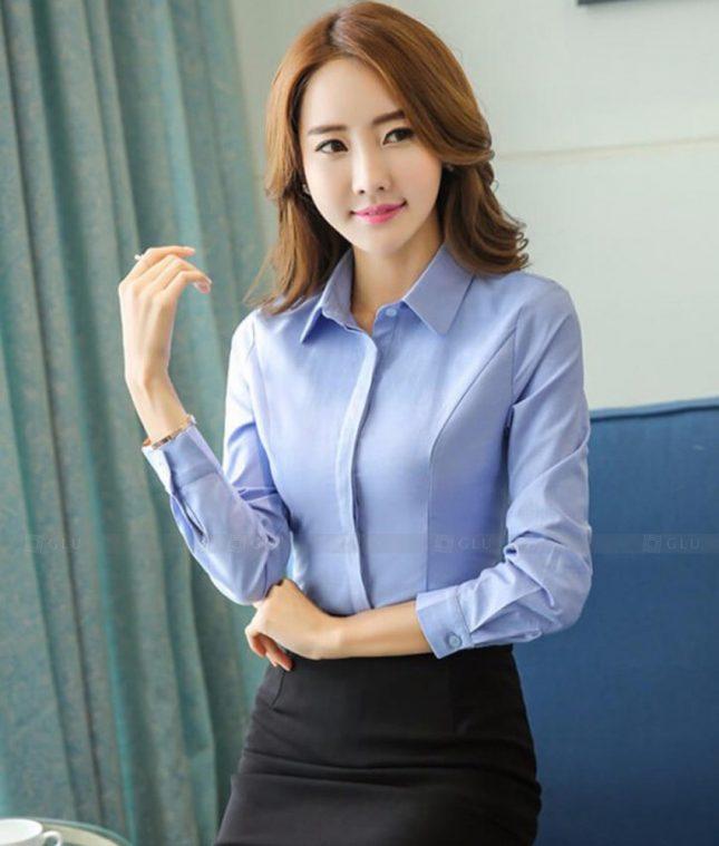 Dong Phuc Cong So Nu GS474 áo sơ mi nữ đồng phục công sở