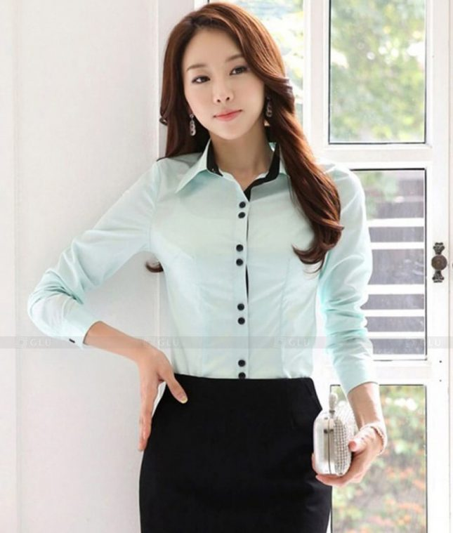 Dong Phuc Cong So Nu GS475 áo sơ mi nữ đồng phục công sở