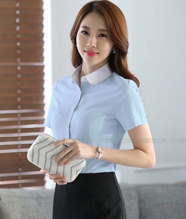Dong Phuc Cong So Nu GS476 áo sơ mi nữ đồng phục công sở