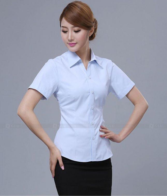 Dong Phuc Cong So Nu GS481 áo sơ mi nữ đồng phục công sở