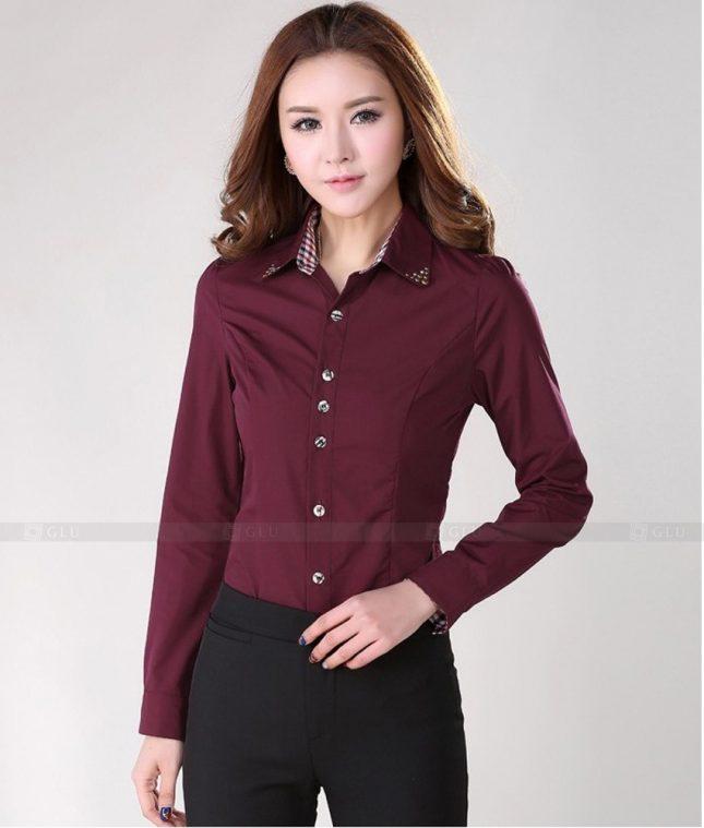 Dong Phuc Cong So Nu GS483 áo sơ mi nữ đồng phục công sở