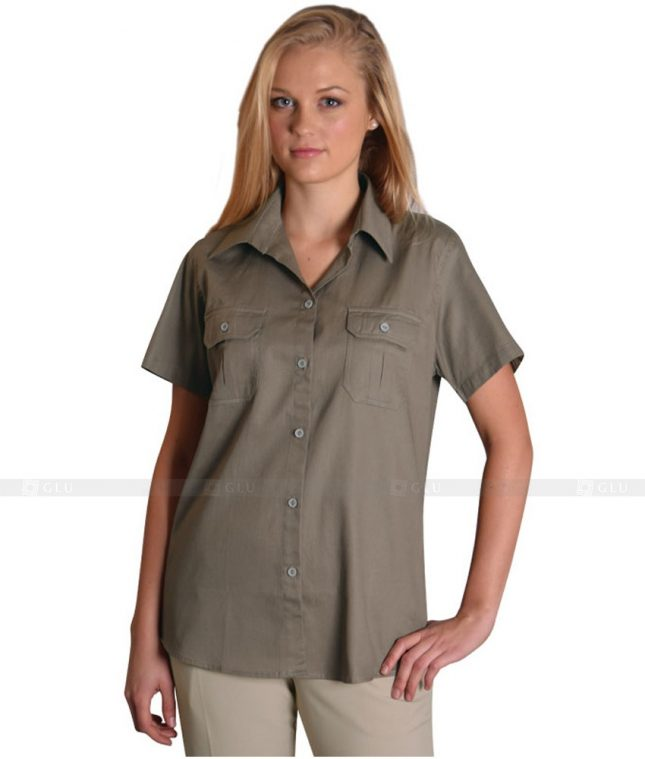 Dong Phuc Cong So Nu GS54 áo sơ mi nữ đồng phục công sở
