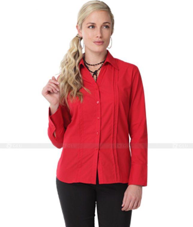 Dong Phuc Cong So Nu GS62 áo sơ mi nữ đồng phục công sở