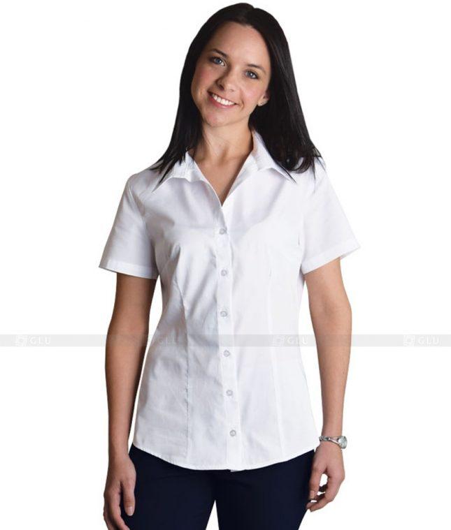 Dong Phuc Cong So Nu GS66 áo sơ mi nữ đồng phục công sở