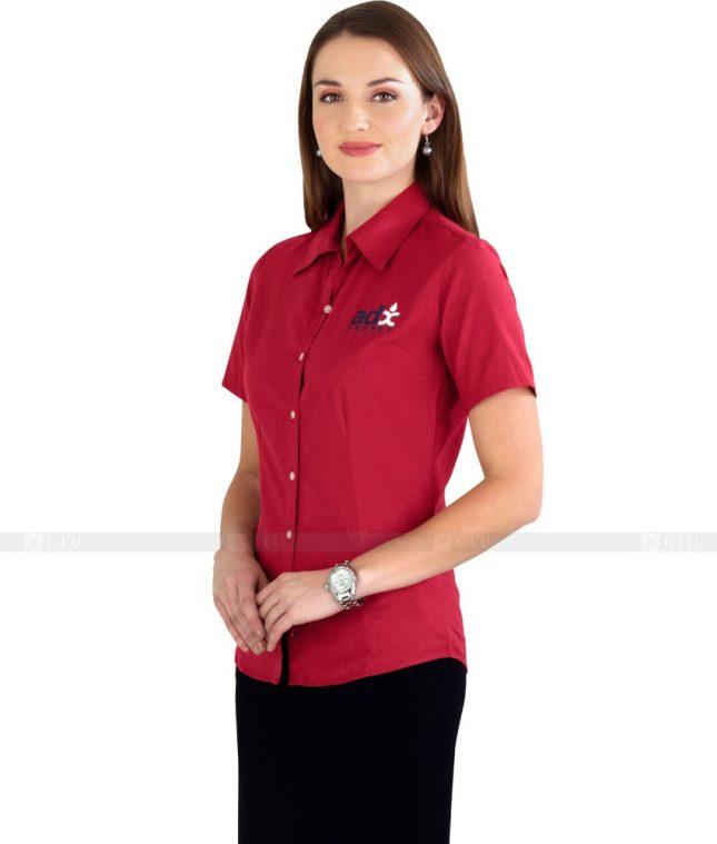 Dong Phuc Cong So Nu GS75 áo sơ mi nữ đồng phục công sở
