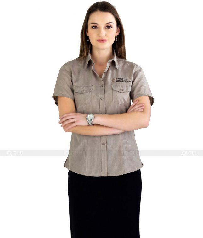 Dong Phuc Cong So Nu GS78 áo sơ mi nữ đồng phục công sở