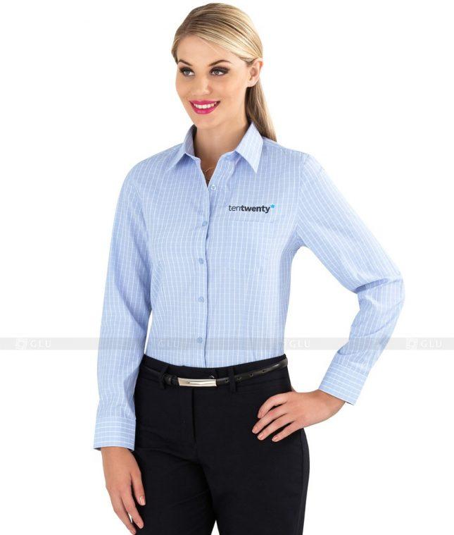 Dong Phuc Cong So Nu GS81 áo sơ mi nữ đồng phục công sở