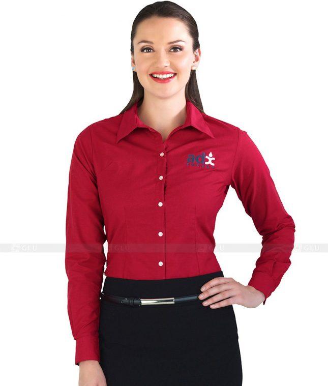 Dong Phuc Cong So Nu GS84 áo sơ mi nữ đồng phục công sở