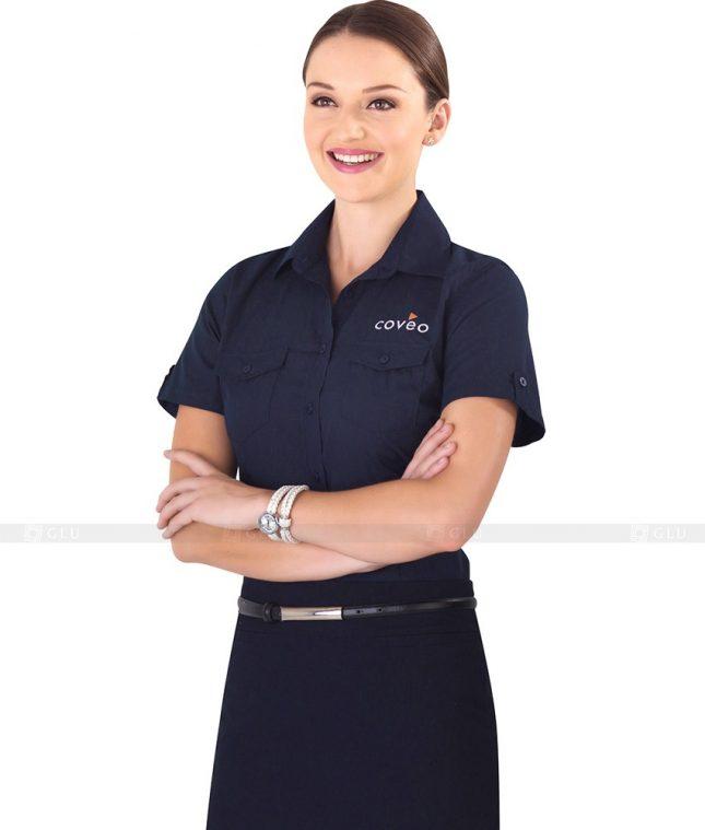 Dong Phuc Cong So Nu GS85 áo sơ mi nữ đồng phục công sở