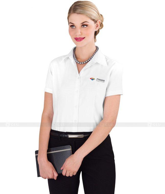 Dong Phuc Cong So Nu GS87 áo sơ mi nữ đồng phục công sở