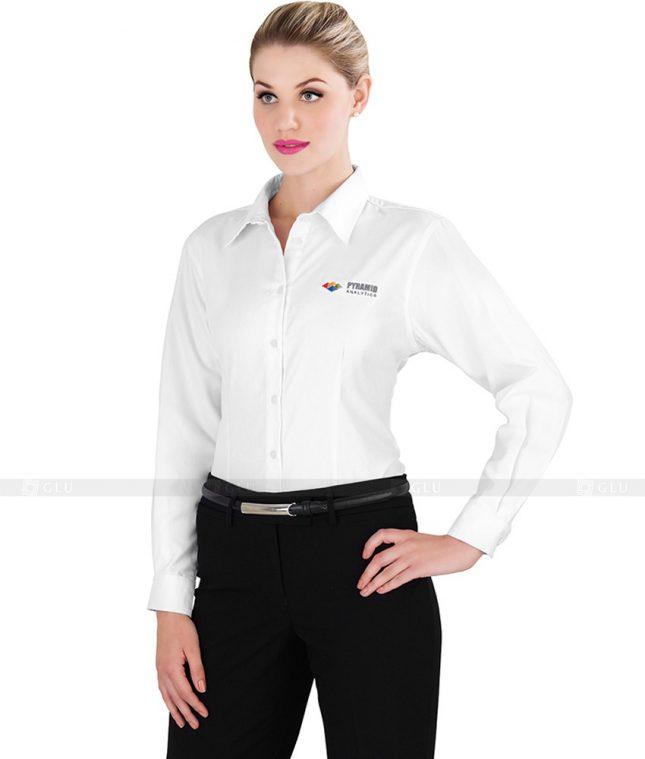 Dong Phuc Cong So Nu GS88 áo sơ mi nữ đồng phục công sở