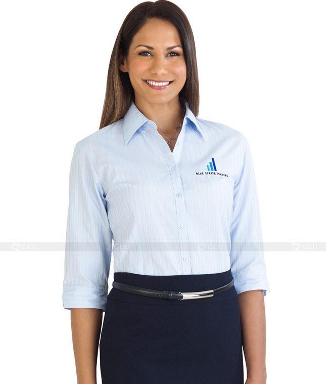 Dong Phuc Cong So Nu GS90 áo sơ mi nữ đồng phục công sở