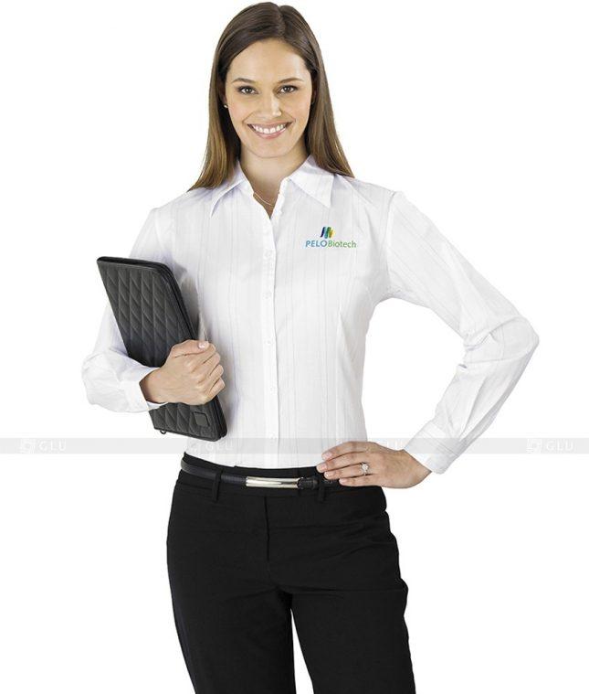 Dong Phuc Cong So Nu GS92 áo sơ mi nữ đồng phục công sở