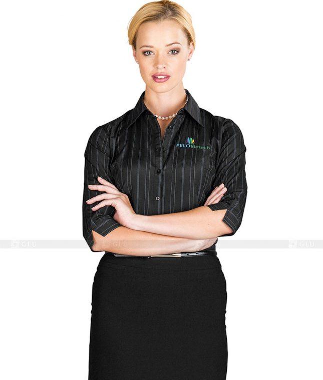 Dong Phuc Cong So Nu GS93 áo sơ mi nữ đồng phục công sở