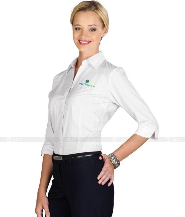 Dong Phuc Cong So Nu GS94 áo sơ mi nữ đồng phục công sở