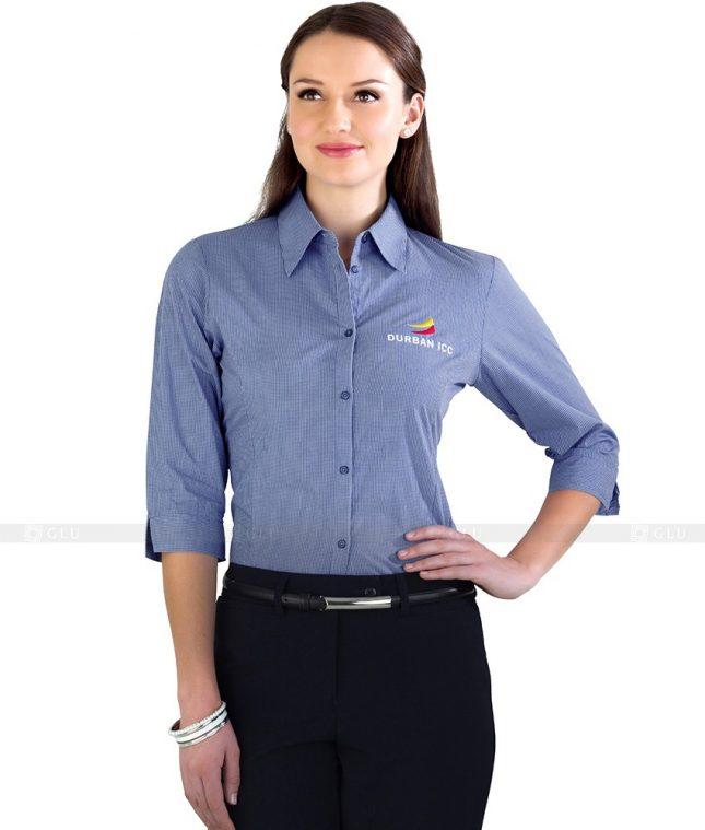 Dong Phuc Cong So Nu GS96 áo sơ mi nữ đồng phục công sở