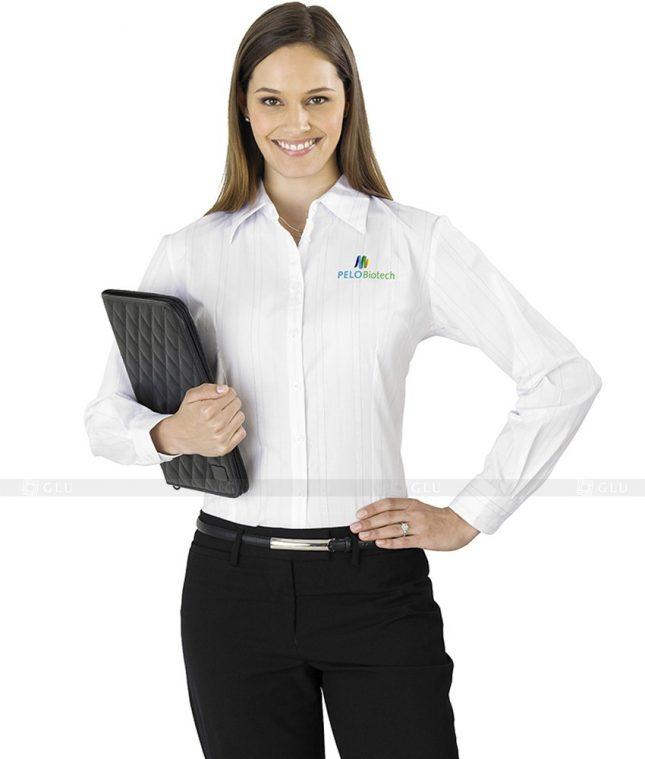 Dong Phuc Cong So Nu GS98 áo sơ mi nữ đồng phục công sở