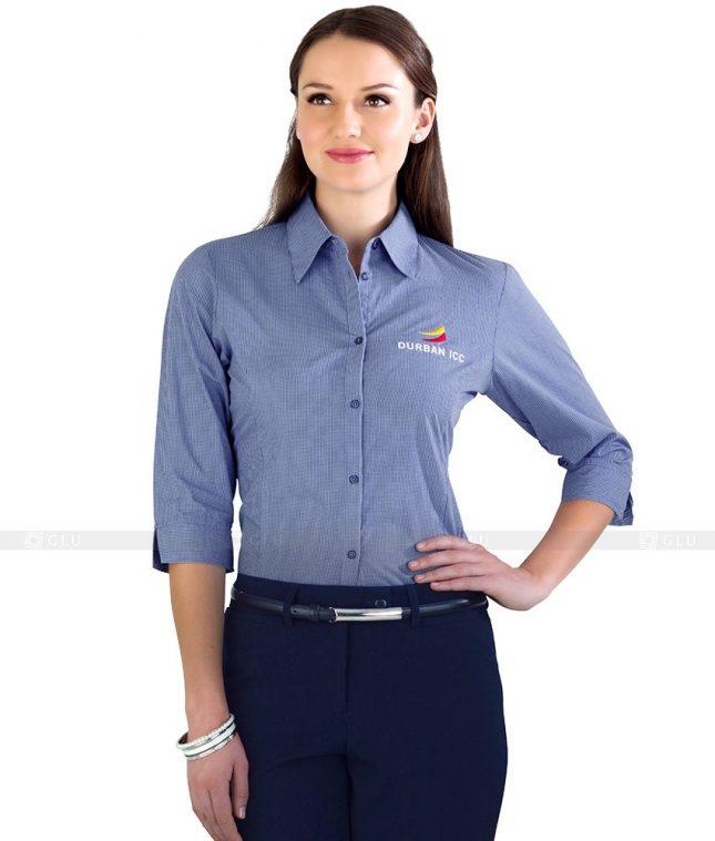 Dong Phuc Cong So Nu GS99 áo sơ mi nữ đồng phục công sở