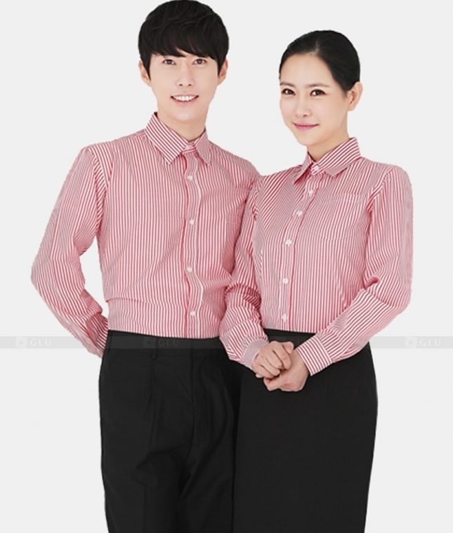 Dong Phuc Cong Ty GLU CT06 áo đồng phục công ty
