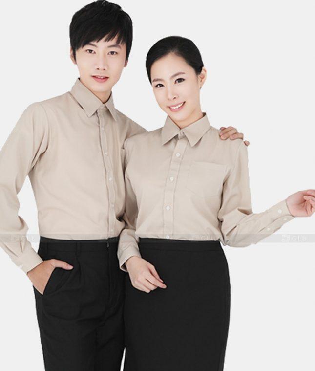Dong Phuc Cong Ty GLU CT08 áo đồng phục công ty