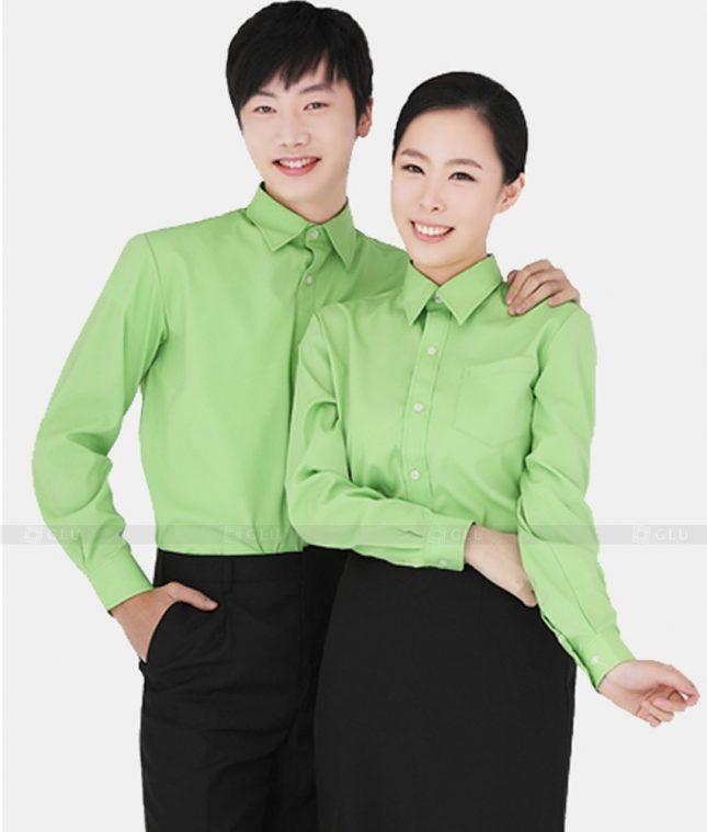 Dong Phuc Cong Ty GLU CT09 áo đồng phục công ty