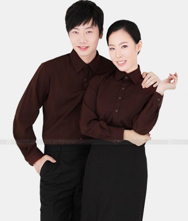 Dong Phuc Cong Ty GLU CT10 áo đồng phục công ty