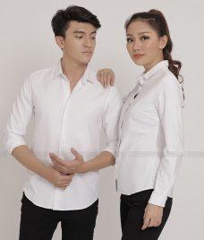 Dong Phuc Cong Ty GLU CT107 áo sơ mi đồng phục