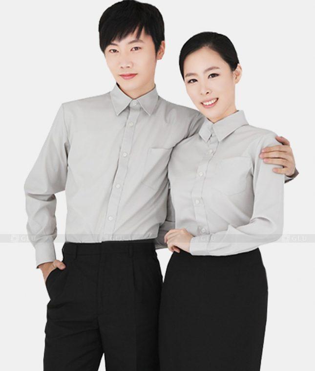 Dong Phuc Cong Ty GLU CT11 áo đồng phục công ty